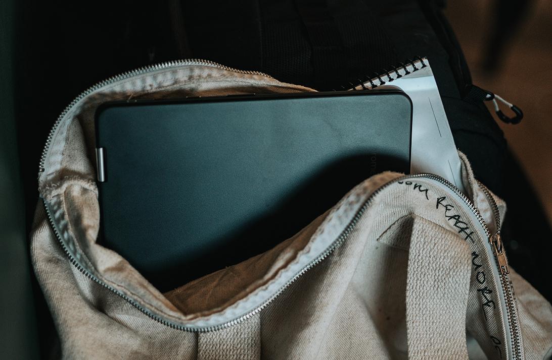 laptop en mochila