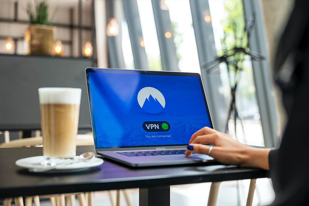 conexion segura en laptop